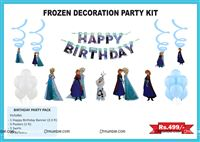 Frozen theme  - Frozen theme party decoration kit (Pack of 31 pcs)