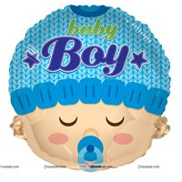 Party Supplies theme Baby Boy Foil Balloon