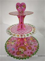 Party Supplies theme Flowers Cup Cake Stand