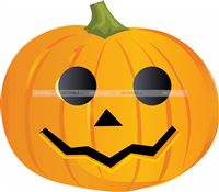 Halloween Decor theme Pumpkin Cutout