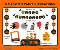 Halloween theme Halloween Party Kit
