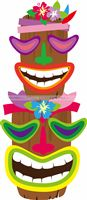 Hawaiian theme Decor Masks posters