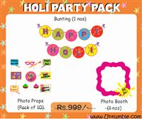 Holi Supplies theme Holi Party Pack