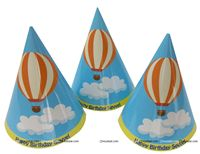 Hot Air Balloon Supplies theme Hats