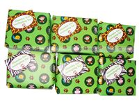 Jungle Birthday Supplies theme Gift Wrapper