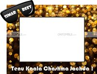 Kaala Chashma theme Photo Frame