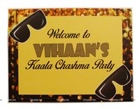 Kaala Chashma theme Welcome poster