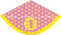 Lemonade Birthday Party  theme Lemonade Party Hats