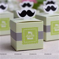 Favour boxes - Little Man Theme Party supplies | Mustache Themed 1st Birthday
