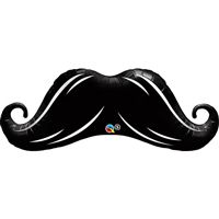 Little Man theme Mustache Foil Balloon (42 inch)