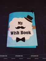 Little Man Birthday theme Wish book