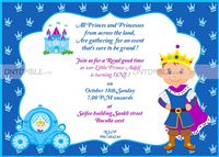 Little Prince theme Little Brave Prince invite