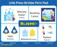 Little Prince theme  - Little Prince Theme Mini Party Pack
