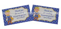Little Prince theme Thank you cards