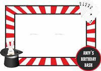 Photo Booth - Magic theme birthday party supplies