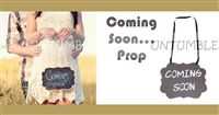Coming Soon Hanging Board - Baby Announcement