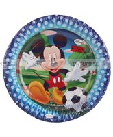 Mickey Minnie theme Mickey Club House Birthday Party Plate