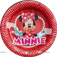 Minnie Birthday Party Plates