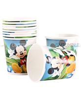 Mickey Minnie theme MIckey Paper Cups (Pack of 10)