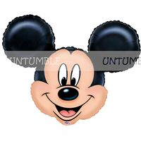 Mickey Minnie theme Mickey Face Foil Balloon