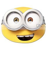 Masks - Minion theme party supplies