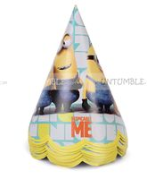 Minion theme  - Minion Party Hats (Pack of 10)