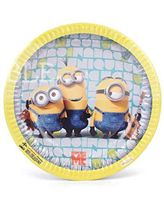 Minion theme party plates (Pack of 10) - Minion