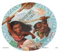 Birthday Party Plates - Best Moana theme birthday party supplies