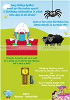 Nursery Rhymes theme Nursery Rhyme Rectangular Invite