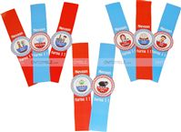 Nursery Rhymes theme Nursery Rhymes Character Wrist Bands