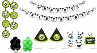 Panda Super saver birthday decoration kit (pack of 58 pcs)