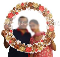 Wedding photo props theme Floral Photo Booth