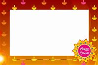 Photo Shoot theme Diwali Photo Booth