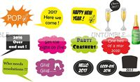 photo shoot theme new year 2017 photo props