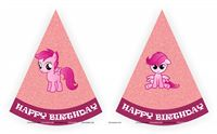 Pink Pony Birthday theme Pink Pony Theme Hats