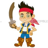 Pirate birthday theme Boy pirate poster