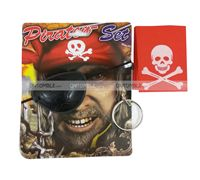 Pirate birthday theme Pirate Eye Patch kit