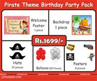 Pirate birthday theme Pirate Theme Mini Party Pack