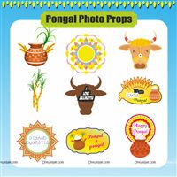 Pongal Party Supplies theme Pongal Photo Props