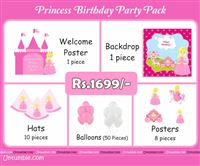 Princess Birthday theme Princess party pack