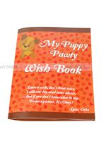 Puppy/Dog party theme Puppy Pawty Wish Book