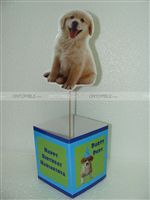Puppy/Dog party theme Cute Dog Centerpiece