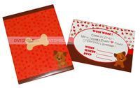 Puppy/Dog party theme Puppy Pawty Invites