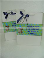 Cute Puppy Gift bags - Puppy/Dog party