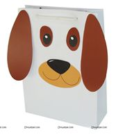 Stickered gift bags - Puppy Love/Dog Theme Party Supplies