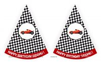 Race Car theme  - Race Car Theme Hats