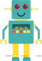 Robot Party Supplies theme Robot theme poster