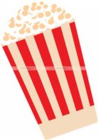 Rockstar Party theme Pop Corn Tub Cutout