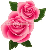 Rose Floral Supplies theme Rose Floral Cutout