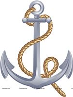 Sailor/Nautical theme Anchor cutout